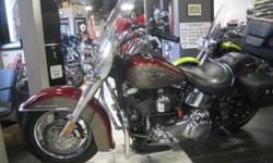 "An already great deal gets even better with ""Off Season"" pricing, offered for sale is a immaculate low mile (15K) Deluxe, this no excuses motorcycle is prepped and ready for years of service."