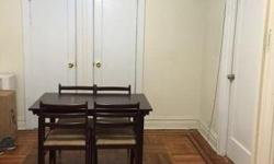 searching for roommate sunny spacious modern large apartment in quiet building two bedroom apartment to share 2nd floor walk-up full kitchen new appliances wood floors ceiling fans the room is approximately 10x12 heat and hot water included close to