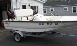 For more details visit: http://www.BoatsFSBO.com/97719 Please contact boat owner Paul at 315-783-3309. 13 ft Whaler with cushion Package with back rest on main seat. Great boat for fun or fishing. Bumpers and rope, ladder. Perfect shape inside and