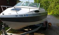 Please call owner Gary at 845-416-3089. Boat is in Highland, New York. 1988 Chris Craft 18 1/2 foot boat with trailer. NEW ENGINE, cuddy cabin, seats 6 great condition . I just don't have the time for this anymore. I hate to see it just sit in the