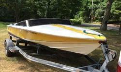 Please call owner Ryan at 845-216-3512. Boat is in Chestnut Ridge, New York. 1989 Donzi Classic 18. Yellow and White. Boat has a 350 King Cobra with about 780 hours showing on the hour meter. I bought the boat in 2006 but have not had the time to even put