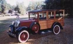 1930 Ford Model A Woody Wagon (NY) - $35,000 Exterior: Maroon/wood Interior: Black vinyl/wood Transmission: Automatic Engine: V-4 Mileage: 261 4 door. Complete frame off restoration. New battery, tires, wiring and coils. Step plates. New LeBaron Bonney