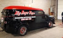 UP FOR SALE IS A ONE OF KIND PANEL TRUCK WE USED THE TRUCK AS A ROLLING BILLBOARD IT GETS PLENTY OF COMMENTS AND BREAKS NECKS WERE EVER WE GO THE TRUCK IS TURN KEY AND READY TO BE DRIVEN THIS IS NOT A PERFECT SHOW TRUCK IT WAS USED FOR THE PAST YEARS ON
