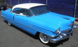 1956 Cadillac Series 62?AACA Grand National?Cadillac LaSalle Club Grand National & 2010 Wreath Award?Ground Up Restoration?Tahoe Blue & Alpine White? Blue & White correct interior?Power Windows?Power Steering?Power Brakes?AM radio with power
