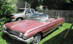 Mileage: 79,000 miles Interior Color: Dusty Rose Exterior Color: Dusty Rose 1962 BUICK ELECTRA 225 Convertible STORED TEN YEARS,WITH NEW PAINT, NEW WHITE TOP, NEW INTERIOR,CARPET, NOW HAS NEW EXHAUST, UNDERCOATING, PUSH RODS,AND ROCKERS FROM SITTING. NEW