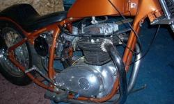 1965 BSA lightning rocket custom chopper, rebuilt motor, bike speaks for itself. Trading as is, runs and sounds great, no papers on the motor. Trade for high end car or custom car, custom build truck. Please no rc cars no average cars or trucks. Send