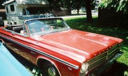 1965 Plymouth Satellite Convertible. 318 V8, Auto Transmission. Call for details. Jim @ 631 242-5144