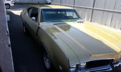 1969 Oldsmobile 442 455 bored and stroked, steel crank, aluminum heads, 5 speed kesler transmission, 9 inch ford curry rear with 4 wheel disc brakes, body on restoration. paint is 9 out of a 10. 3inch flowmaster exhaust car sounds really good. 600-650