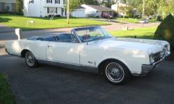 Rare Muscle Car 1969 Oldsmobile 442 Convertible. I have owned this car for the past 35 years. Solid rolling chassis, no motor no tranny. A 454 big block chevy motor also available. Under carriage was completely sand blasted and given a coat of rustoleum