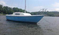 1974 Kells, Self righting sailboat Sweet boat. Comes with mooring. On Hudson River, @ the Beacon Sloop Club.