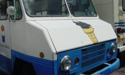 1975 MISTER SOFTEE Mobile Soft Ice Cream Truck with upgrades as follows: Ford 300 inline 6 cylinder engine far superior than original 292 GMC parts and replacement readily available for this engine Replaced steering box with rebuilt one Has upgraded 5