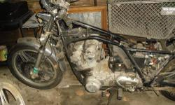 have a 1981 Honda cb900 custom with clean title. it has not been put all together, but i have 95% of all the parts. along with that i also have a 1980 cb750 rolling chassis for parts, as many are interchangeable. i have lost interest in rebuilding the