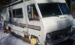 MOVING TO HAWAII WISH I COULD TAKE HIM WITH ME '82 WINNIE BRAVE 65000 MI.32' CLASS A MOTORHOME WAS PLANNING A VACATION OVER CHRISTMAS HOLIDAYS CHANGED ALL FLUIDS GOT READY TO GO SOLD MY HOME IN NY PLANS CHANGE GOTTA GO 454 chevy eng / A/T / SERVICED ALL