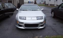 Up for sale is a 1990 Nissan 300ZX. A true import classic in the making. This one is a T Top, V6, with very low miles for the year. Engine runs strong. It needs the clutch slave cylinder replaced, and a new tire for one of the cars alloy wheels. Besides