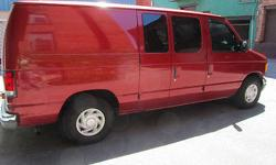 Condition: Used Exterior color: Red Interior color: Gray Transmission: Automatic Fule type: GAS Engine: 6 Vehicle title: Clear Body type: Standard Cargo Van Warranty: Vehicle does NOT have an existing warranty Standard equipment: CD Player,Air