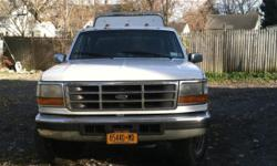 xcellent work truck 1997 F350 7.3-turbo diesel, automatic with overdrive, four door with 8 foot box and leer contractors utility cap with locking tool boxes built in the sides, will sell with or without. Solid body very little rust asking $3,500 or best