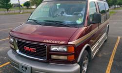This Hi-Top 1997 GMC Savana 1500 Van has a conversion kit from Starcraft that offers all of the creature comforts needed to make a road trip smooth and easy. Mileage: 103K and a work horse!. Runs great and you are free to test drive. $8000 OBO City: 13-15