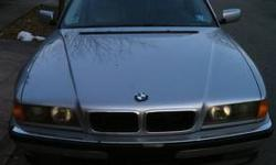 98 bmw 740 il M-pack has 126k miles exterior silver interior grey leather power seats a/c heat please call chris 347-500-1342