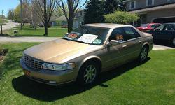 Condition: Used Exterior color: Gold Interior color: Tan Transmission: Automatic Fule type: GAS Engine: 8 Drivetrain: FWD Vehicle title: Clear Body type: Sedan DESCRIPTION: 1998 Cadillac STS Fully Loaded, Super Clean. 3 owner car only 88,000 miles. Near