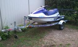 this is a 1998 Yamaha gp1200 in mint condition was mainly used in fresh water up until last year .now its used in salt water and flushed and washed after every use . has a oil delete plate so u have to mix the gas and oil . ski has about 96 hrs on it also