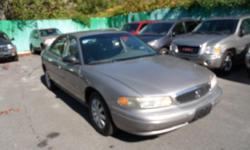 1999 BUICK CENTURY $1900 Fully Loaded 4 Door, Automatic, Power seats Dual Air-Bags Console, Factory Alloys, Traction Control, AM/FM/CASS/CD, Tilt, Cruise, Heat and A/C, Digital Climate Control, Power Windows, Power Door Locks, Alarm, Factory Tint Roof