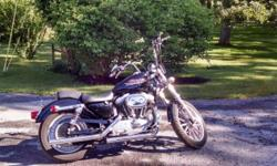 For sale is a 2000 Harley Davidson Sportster. Bike looks, sounds and runs great. It has less than 20k miles on it. I am asking $3800 cash for the bike. I have the title in hand. The bike includes apes, forward controls, quick detach sissy bar and Vance