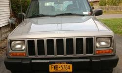 2001 Jeep Cherokee. Alternator and battery recently replaced. Driven daily, runs well. High mileage, but what jeep does not have high mileage... They're driven for FUN!!!! Call (315) 778-7131 for more info!!!