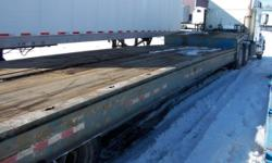 2001 Kalyn/Siebert Trailer For Sale in Elmira, New York 14901 This is a 2001 Kalyn/Siebert 48? traveling axle air ride suspension trailer. Main in and out cylinder replaced on 8/29/14. Apitong floor, fixed neck, dock levelers, aluminum/steel wheels