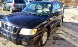2001 SUBARU FORESTER Runs like new Clean inside and out Power windows and locks Big Sunroof All leather seats Just had an oil change and inspection Ready to go 4350 obo!