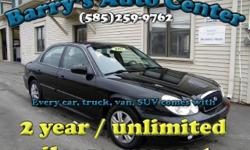 **Get a FREE 2 Year Unlimited Mileage Warranty!!** This Sonata is in beautiful shape, and comes with a great warranty so you wont have to worry. Inside, it has all power options; power windows, locks, mirrors, cruise, CD player, and more. We did a NYS
