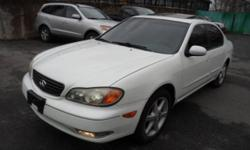 2002 Infiniti I 35 3.5 LEATHER MOONROOF $3995 Leather Power Heated Seats FULL POWER, DUAL AIRBAGS, AM/FM/CASS/CD Fully Loaded ABS BRAKES, LEATHER F/R HEATED SEATS, MOONROOF, ALLOYS, LEATHER INTERIOR , Tilt, Cruise, Dual Air Bags, Heat and A/C, Digital