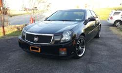I am selling a very clean 2003 Cadillac CTS. The CTS is a 5-speed manual RWD car. I purchased this CTS in 2008 with 46K miles on it. Since then the car has always been garage kept. The car rides and runs smooth. The only reason I am selling is to buy the