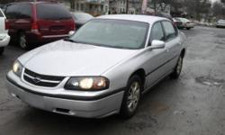 2003 Chevrolet Impala has a really clean body with little rust I had it inspected and got the oil changed this month doesn't have any check engine lights the car drives great good in the snow heat/ ac works ready to go!