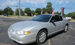 2003 Chevrolet Monte Carlo 2dr Car LS Our Location is: JTL Auto Sales - 504 Middle Country Rd, Selden, NY, 11784 Disclaimer: All vehicles subject to prior sale. We reserve the right to make changes without notice, and are not responsible for errors or