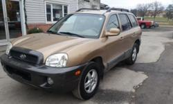 2003 HYUNDAI SANTA FE V6 4 wheel drive Runs like new No problems. Just had it inspected and also got an oil change. There's no check engine lights A/c and heat, has power windows and locks. Newer tires and brakes 4900 obo