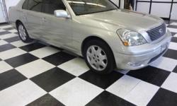 This 2003 Lexus LS 430 is proudly offered by Prestige Motor Works, Inc Excellence, luxury and stature are just a few of the pillars this car is built upon. This 2003 Lexus LS 430 has such low mileage you'll probably think of them more as blocks traveled