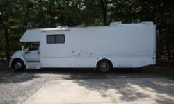 2004 F-750 F750 Funmover Fourwinds C35 Cat7 Engine RV Motorhome FREE DELIVERY within the 48 continental USA Bought this last September with 22k miles on it. It starts up right away and runs great! Pulls like a beast! It has dual 45 gallon diesel tanks. I