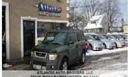 2004 Honda Element, 119,287 miles Price: $6,995 Year: 2004 Make: Honda Model: Element Trim: EX AWD 4dr SUV Miles: 119,287 miles VIN: 5J6YH27554L038086 Stock #: 1634 Engine: I4 2.4L I4 Color: Green MPG: 18 city / 22 hwy Address: 860 W. Ridge Rd, ROCHESTER,