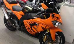 2004 Kawasaki Ninja ZX10R Orange 16382 mi 1000cc Clean Call our staff today at: 315-788-6900 http://smmotorsportsny.com/sandmmotorsports/bikes.htm