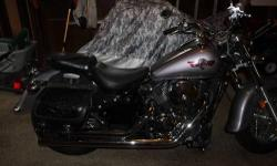 2004 Kawasaki Vulcan Classic 800 Motorcycle - awesome condition, no rust, dents or dings - low miles - great on gas - super comfortable ride - really nice sound! 1st owner did change the pipes to better ones that are on there now. Has saddlebags, Arlen