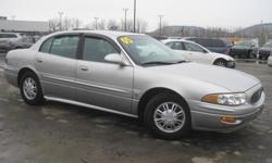 ***CLEAN VEHICLE HISTORY REPORT*** and ***PRICE REDUCED***. LeSabre Custom, 4-Speed Automatic with Overdrive, and Silver. Take your hand off the mouse because this charming 2005 Buick LeSabre is the low-mileage car you've been thirsting for. J.D. Power