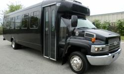 Major Vehicle Exchange presents this 2005 Chevrolet 25 passenger (rated for up to 30 passengers) Startrans Duramax Diesel Powered Luxury Shuttle Bus with overhead & rear luggage compartments. This bus has been thoroughly reconditioned, serviced, checked