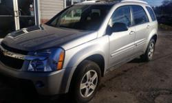 2005 CHEVROLET EQUINOX Runs great and body is in great condition recently inspected and oil change Heat and A/c Power windows and Locks tires have good tread brakes are like new 5300 obo