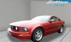 You?ll enjoy the open roads and city streets in this 2005 Ford Mustang. This Ford Mustang offers you 87040 miles and will be sure to give you many more. This Mustang has so many convenience features such as: power seatspower windows and power locks Real
