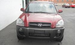 2005 Hyundai Tucson GLS Stock# 3470 Vin#KM8JN72D75U066958 One Owner. Super Clean Well Cared For Vehicle 2.7 Liter I6 MPI DOHC 24V Automatic with Four Wheel Drive 91,246 Miles Mesa Red Exterior/ Gray Interior Brand New Tires and Brakes We have a Guaranteed