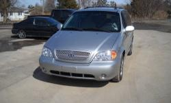 2005 Kia Sedona Mini-Van!! Perfect Price and Perfect Vehicle for YOUR Family!! 3 Rows Child proof rear door locks Cargo area Split Folding Removable 3rd row bench seat with quick release and built in rollers For more information contact ED DONTATO CALL /