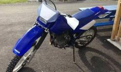2005 Yamaha TTR 250cc Blue Clean Call our staff today at: 315-788-6900 http://smmotorsportsny.com/sandmmotorsports/bikes.htm