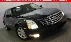 CERTIFIED CLEAN CARFAX VEHICLE!!! CADILLAC DTS!!! Dual zone climate controls - Power seats - Object sensors - Alloy wheels - Genuine leather seats - Rear climate controls - Fog lamps - Non-smoker vehicle - Immaculate condition!!! Save yourself Time and