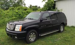 Year: 2006 Make: Cadillac Model: Escalade ESV VIN: 3GYFK66N96G150505 Stock #: 1601 Condition: Used Mileage: 129,162 Exterior: Black Interior: Tan Leather Body: SUV Transmission: Automatic Engine: 6.0L V8 Can be seen By APPOINTMENT ONLY motorhead NEW YORK