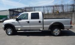 2006 Ford F 250 CREW CAB XLT 4X4 $8400 Full Power, DUAL AIRBAGS, Power Door Locks, REMOTE Alarm, Alloys, Traction Control. 4X4 5.4 TRITON AUTOMATIC ,ABS BRAKES, CRUISE CONTROL, Fully Loaded, AM/FM/CASS/CD, Tilt, Cruise, Heat and A/C, Climate Control,